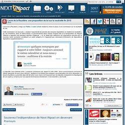 Laure de la Raudière: une proposition de loi sur la neutralité fin 2010