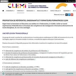 Référentiel compétences en EMI (enseignant.e / formateur.trice) du CLEMI_avril 2020