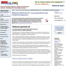Médecine Générale 2.0
