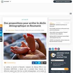 Des propositions pour arrêter le déclin démographique en Roumanie