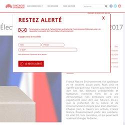 Élections : nos 10 propositions pour 2017