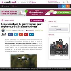 Les propositions du gouvernement pour réglementer l'utilisation des drones