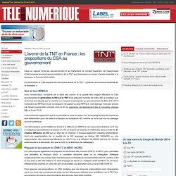 L'avenir de la TNT en France : les propositions du CSA au gouvernement