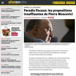Paradis fiscaux: les propositions insuffisantes de Pierre Moscovici