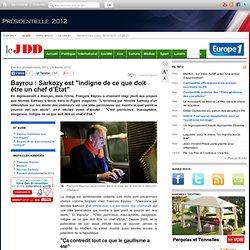 Bayrou réagit aux propositions que Nicolas Sarkozy a faites dans le Figaro magazine