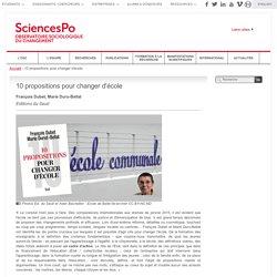 Sciences Po observatoire sociologique du changement