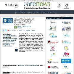 10 propositionsdu CFF autour de l'intérêt général et de ses structures - Carenews