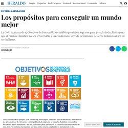 Los propósitos para conseguir un mundo mejor