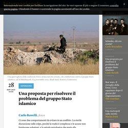 Una proposta per risolvere il problema del gruppo Stato islamico - Carlo Rovelli