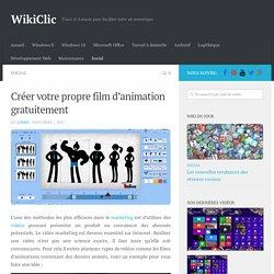 Créer votre propre film d'animation gratuitement