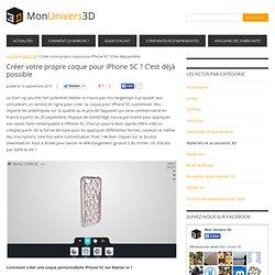 Créer votre propre coque pour iPhone 5C ? C'est déjà possible