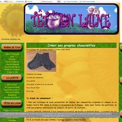Créer ses propres chaussettes