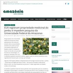 EUA registram propriedade medicinal do jambu e impedem pesquisa da Universida...