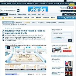 Heureux comme un locataire à Paris et un propriétaire à Lille - 15/09/2014
