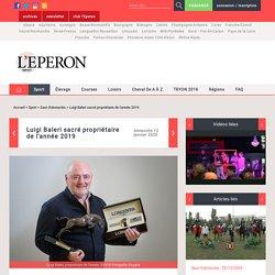 Luigi Baleri sacré propriétaire de l'année 2019 / Saut d'obstacles / Sport / Accueil - leperon.fr