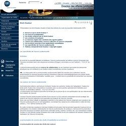 CNRS - DGDR - DAJ : Propriété intellectuelle - Droit d'auteur