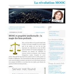 MOOC et propriété intellectuelle : la magie des liens profonds