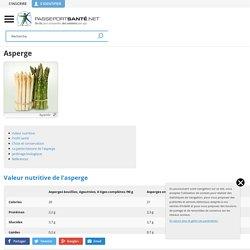 Les Asperges - Propriétés, Bienfaits, Composition, Recettes