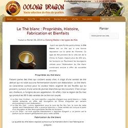 Le Thé blanc : Propriétés, Histoire, Fabrication et Bienfaits