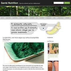 La spiruline, une micro-algue aux vertus et propriétés fabuleuses