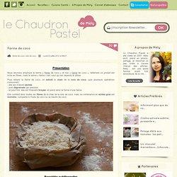 Farine de coco (sans gluten - IG bas - riche en fibres) > Nutridoux