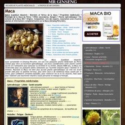 MACA aphrodisiaque libido H /F ET érection