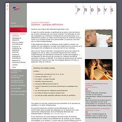 centre médical dédié au soin de la dyslexie et des troubles posturaux - Dyslexie et proprioception ? - Quelques définitions de termes relartifs à la dyslexie