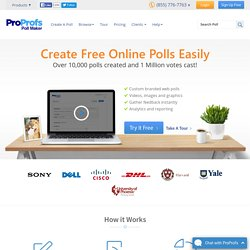 Web Polls Maker, Create Poll Software