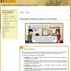 Aclarando conceptos: mcm y MCD