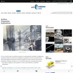 Archivo: Propuestas Explorativas