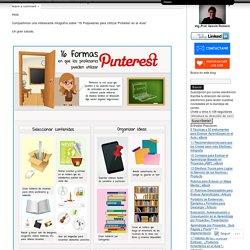 16 Propuestas para Utilizar Pinterest en el Aula