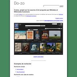 Crotos, projet sur les œuvres d'art propulsé par Wikidata et Wikimedia Commons