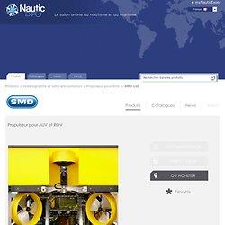 Propulseur pour AUV et ROV - SMD Ltd