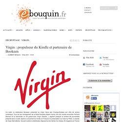 Virgin : propulseur du Kindle et partenaire de Bookeen