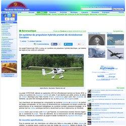 Un système de propulsion hybride promet de révolutionner l'aviation