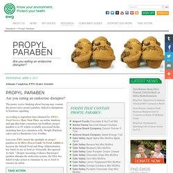 Propyl Paraben