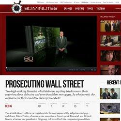 Prosecuting Wall Street