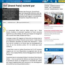 Prosol (Grand Frais) racheté par Ardian