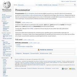 Prosommateur