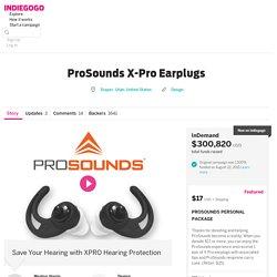 ProSounds X-Pro Earplugs