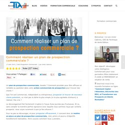PLAN De Prospection Commerciale - Comment Prospecter ?