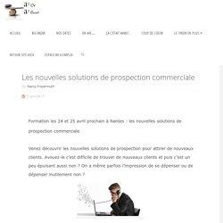 Les nouvelles solutions de prospection commerciale