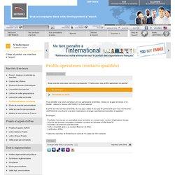 Prospection de marché à l'étranger - Contact Ubifrance