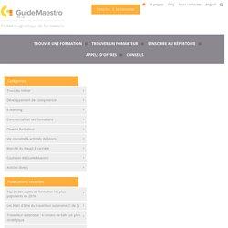 Outils CRM et base de données pour la prospection de nouveaux clients / Guide Maestro Conseils