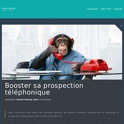 Booster sa prospection téléphonique - Vivian Sarazin