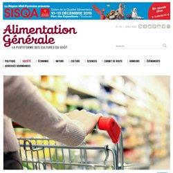 ALIMENTATION GENERALE 27/11/15 Prospective : les grandes tendances du système alimentaire