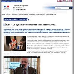 Étude – La dynamique d'internet. Prospective 2030