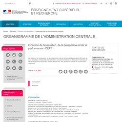 MINISTERE DE LA RECHERCHE - Direction de l'évaluation, de la prospective et de la performance (D.E.P.P.)
