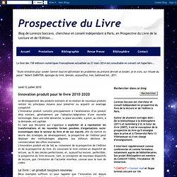 Innovation produit pour le livre 2010 2020