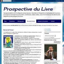 Prospective du Livre: Revue de Presse